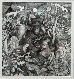 SECOND PRIZE 'All Life from the Sea' Sharyn Madder