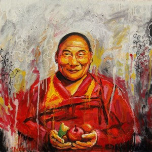 SECOND PRIZE 'The Dalai Lama' Tanya Salter