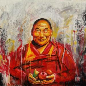 SECOND PRIZE 'The Dalai Lama' Tanya Salter